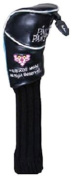 Pink Panther 180 cc Golf Utility UT Sock Type Head cover BLACK [JAPAN]