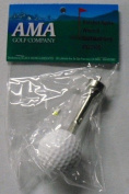 AMA Golf Ball Handle Ratchet Spikes Wrench