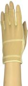 HJ Glove Women's Beige Solaire Half Length Golf Glove, Small, Left Hand