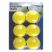 Intech Foam Practise Balls, 6 Pack