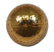 GOLD METALLIC GOLF BALLS - BLING BALLS! by Navika