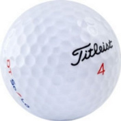 24 Titleist DT SOLO AAA Recycled Used Golf Balls, 24-Pack