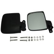 EZGO Club Car Yamaha Gas & Electric Golf Carts Side Rear View Mirror Set