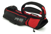 PING MOONLITE CARRY GOLF BAG -BLACK/RED- NEW 2015