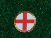 Gatormade Golf Ball Marker England Flag