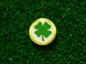 Gatormade Golf Ball Marker Four Leaf Clover