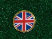 Gatormade Golf Ball Marker Great Britian Flag Union Jack