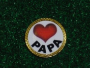 Gatormade Golf Ball Marker Love Papa