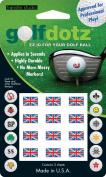 Golf Dotz Union Jack Tatoo Mark Your Golf Ball Unique