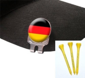 Golf Cap Clip & Free Sherpashaw Tees France, Germany, Italy and Spain