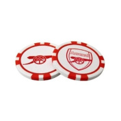 Arsenal F.C. Poker Chip Ball Markers