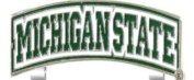 Michigan State Slider Golf Cap Clip