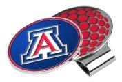 Arizona Wildcats Golf Hat Clip & Ball Marker