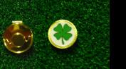 Gatormade Golf Ball Marker & Hat Clip Four Leaf Clover