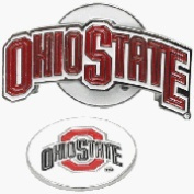 Ohio State Buckeyes Hat Clip Golf Ball Marker