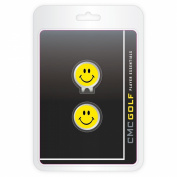 CMC Golf Smiley Face Cap Clip Clamshell Pack