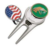 Florida A & M Single Sided Golf Ball Marker w/ Divot Tool