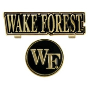 Wake Forest Slider Golf Cap Clip & Metal Ball Marker