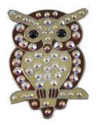 Navika Owl. Crystal Ball Marker with Hat Clip