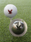 Tin Cup Double Eagle Golf Ball Marking Stencil, Steel