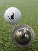 Tin Cup Nine Lives Golf Ball Marking Stencil, Steel
