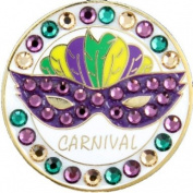 Bella Crystal Collection-USA Carnival Hat Clip Set