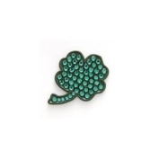 Bonjoc Ball Marker and Hat Clip Four Leaf Shamrock Irish Clover