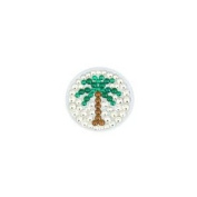 Bonjoc Ball Marker and Hat Clip PALM TREE
