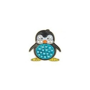 Bonjoc Ball Marker and Hat Clip PENGUIN - Blue