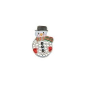 Bonjoc Ball Marker and Hat Clip SNOWMAN