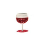 Bonjoc Ball Marker and Hat Clip Wine Glass CABERNET