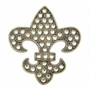 Bonjoc Fleur De Lis Ladies Golf Ball Marker
