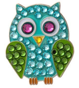 Bonjoc Blue Owl. Crystal Ball Marker