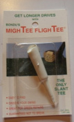 White MighTEE FlighTEE Golf Tee Get More Distance Works