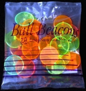 Ball Beacons Quarter Size Golf Markers 20 ct Neon Mix