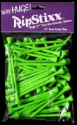 Way Long RipStixx Golf Tees 65 Wood Neon Green 7cm