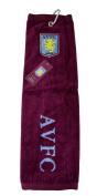 Aston Villa Fc Golf Tri-Fold Towel