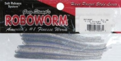 Roboworm Straight Tail Worm, Prizm Shad, 11cm