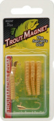 Leland Lures E.F. Lead Free Trout Magnet Jig Head, Mealworm