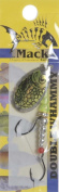 Mack's Lure Double Whammy, Chartreuse Chrome/Flo Chartreuse, Size 4