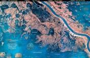 Standard Laminated Map Happy Jack Lake Hermitage Md#