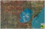 Standard Laminated Map Lake Maurepas Md#