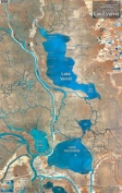 Standard Laminated Map Lake Verret Md#