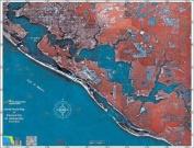 Standard Laminated Map Panama City Md#