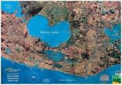 Standard Laminated Map Pecan Island/Rockerfella Md#