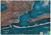 Standard Laminated Map Pensacola Md#