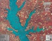 Standard Laminated Map Toledeo Bend Central Md#