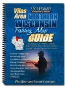 Northern Wisconsin Fishing Map Guide - Vilas