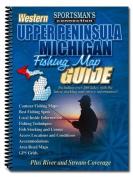 Western Upper Peninsula Michigan Fishing Map Guide