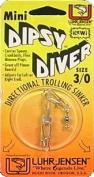 Luhr Jensen Mini Dipsy Diver, Clear/Clear Bottom, 5.7cm